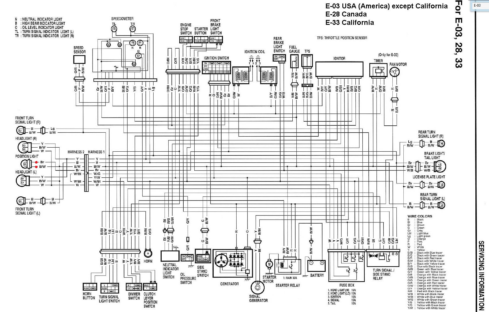 2017 Gsxr 1000 Wiring Diagram